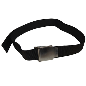 Dive Weight Belt with Stainless Steel Buckle - Black