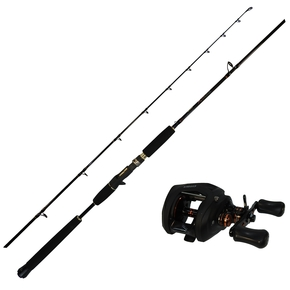 Citrix 364 Overhead Reel with X Factor 6'3, 6-10kg Baitcast Rod