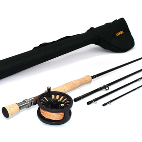 Dragonfly #8 Weight Fly Fishing Rod & Reel