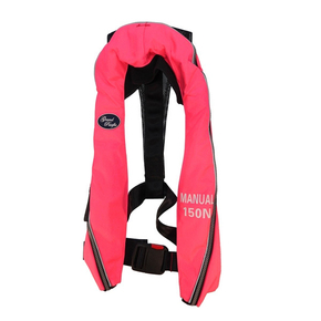 Inflatable Lifejacket Adult Manual 150N - (Comfort Series-New) - Pink