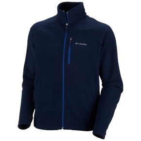 Fast Trek II Mens Full Zip Fleece Jacket - Navy