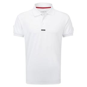 Mens Fast Dri Polo Anti Microbe Shirt XL - White