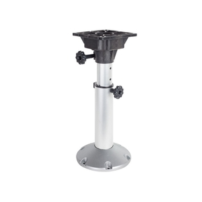 75mm Shaft Adjustable Seat Pedestal 330mm-500mm w/Swivel