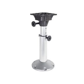 75mm Shaft Adjustable Seat Pedestal 450mm-635mm w/Swivel