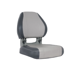 Sirocco Deluxe Fishermans Folding Seat - Charcoal/Grey