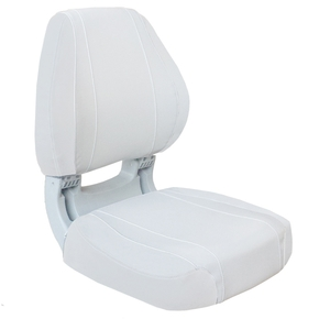 Sirocco Deluxe Fishermans Folding Seat - White