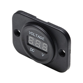 Mini Digital Voltmeter (5-30v) - Flush or Surface Mt