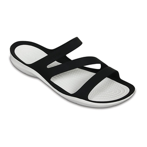 Swiftwater Womens Shoe - Sandal ~ Black/White