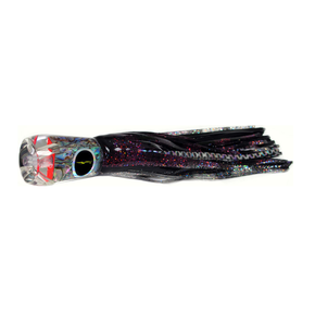 """Cairns Prowler Game Lure 10"""" purple / Black Dot"""