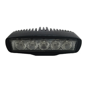 Hawk 10-30v LED Spot/Flood Light (5x3w Hi Power CREE LED) BLACK