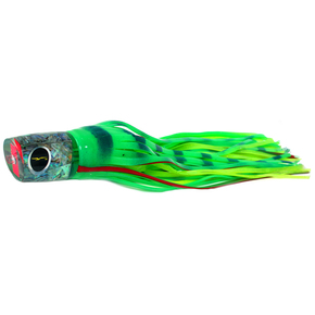 "Warrior Game Fishing Lure-13.5"" Glow/Green Chartreuse Dot"