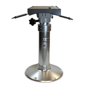 "XHD 12"" Base Gas Adjustable Seat Pedestal w/Swivelling Slider"
