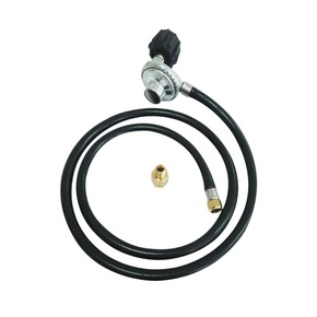 LPG Gas Cylinder Regulator with Hose -QCC Fitting- 1500mm