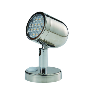 SS Swivel Wall Mt Led Reading Light -12v - 3.1w