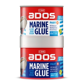 1:1 Mix 2 Pot Marine Epoxy Glue 2 Pot Epoxy Pack - 1L