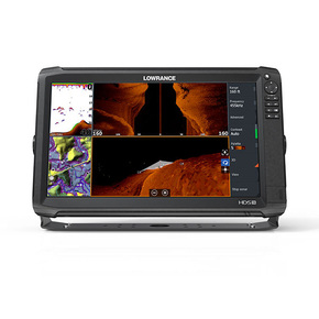 HDS-16 Carbon GPS/Chartplotter with Med/High TotalScan Transducer