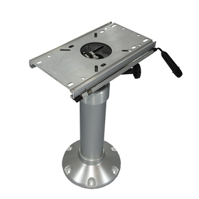 H/Duty Gas Adjust. Pedestal w/Swivel +Slider 530-690mm