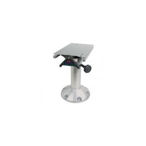 Fixed Height Swivelling Seat Pedestal w/Slider - 570mm