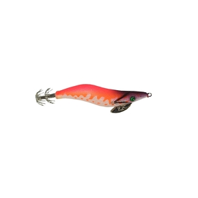 Glow Squid Jig - Glow Pink/Orange 2.5