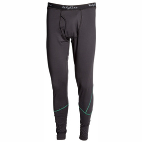 Mens Polyester Ridgeline Thermal Legging Black - XX Large