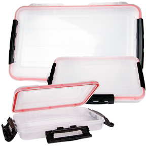 Waterproof Tackle Box 275mm x 185mm x 50mm  13 compartments.