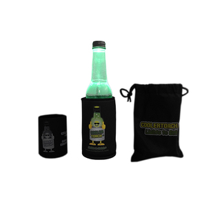 Drink Holder & Torch - Black