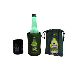 Drink Holder & Torch - Green