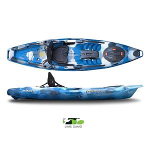 Moken 10 Lite Angler 1 Person Kayak 3.15m - Lime Camo