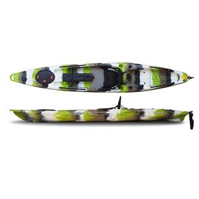 Moken 14 Angler Kayak 4.25m w/Rudder - Lime Camo