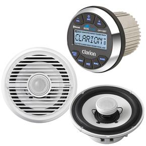 GR10BT Marine USB/MP3/WMA/Receiver w/CMG1622R 6-1/2 Marine Speakers
