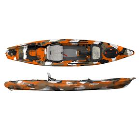 Lure 13.5 Angler Kayak 4.10m - Orange Camo