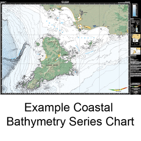 Cuvier Bathymetry chart