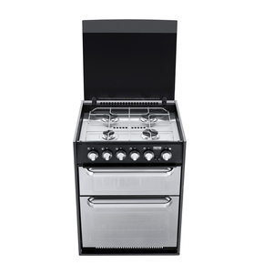 Caprice MK3-4 Burner Oven with Grill & Light - New Look Mirror