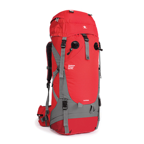 Carina Tramping Pack Red - 65 Litre