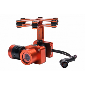 Waterproof 4K Camera 2 AXIS Gimbal