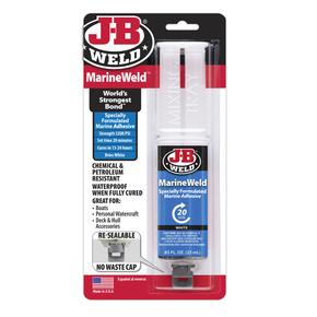 MarineWeld 2-pot Epoxy Glue Syringe - 25ml