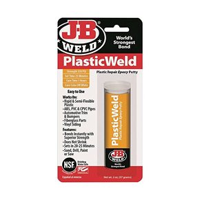Plasticweld Epoxy Plastic  Repair Putty - 56.8g