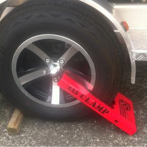 Alloy (Mag Rim) Wheel Clamp