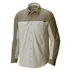 Silver Ridge Long Sleeve Shirt - Mens/XXL/Safari Cypress