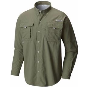 Mens Bahama II Long Sleeve Fishing Shirt Size XL Cypress