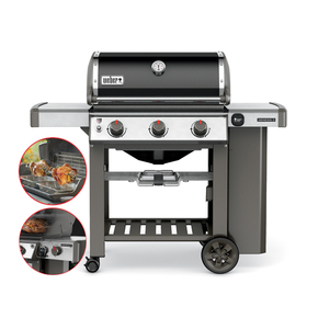 Genesis II E310 Premium 3 Burner NG Natural Gas Barbecue - Specialist