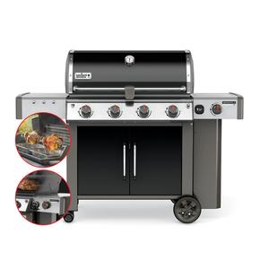 Genesis II LX E440 Premium 4 Burner + Side LPG Barbecue - Specialist Model