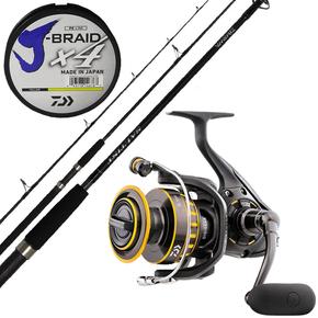 BG5000 Reel / Saltist BW 792HSJ Spin Rod + X4 50lb Braid