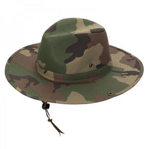 Outback Camo Hat Green