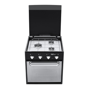 Triplex 3 Burner Oven with Grill (New Look Mirror)