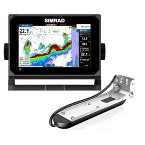 GO9 XSE GPS/Fishfinder Combo with Totalscan Transducer & C-Map Chart