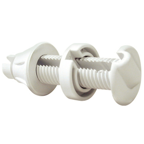 Watertight Bulkhead Thru hull Cable Outlet Gland White