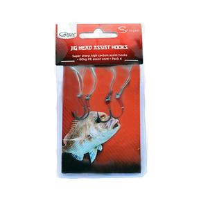 Stingaz Jighead Assist Hooks 3/0 4-Pk