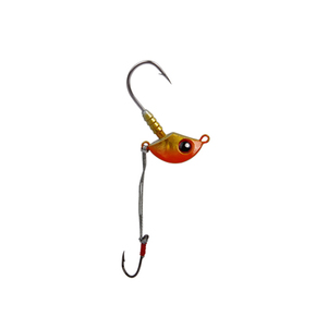 Stingaz Jig Head 3/0 1/4oz 1-pk Orange Assassin