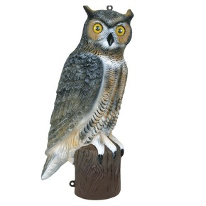 "Bird Scarer Decoy Scary Owl 53cm (21"")"